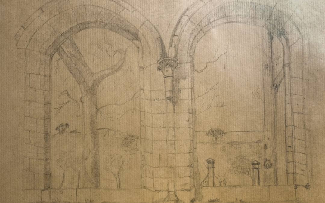 Dessin : Abbaye de Beauport