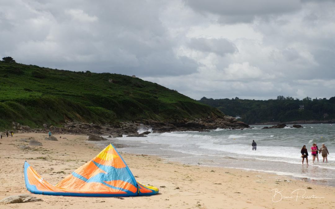 Goas Lagorn : plage et falaises